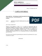Carta Notarial - Febrero