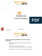 Taking Asterisk beyond traditional telecommunication applications.