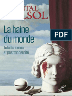 La Haine Du Monde _ Totalitaris - Chantal Delsol