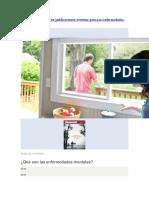 Los Testigos de Jehová, Las Enfermedades Mentales y El Suicidio (II)
