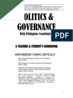 Politics and Governance