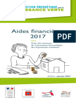 Guide Pratique Aides Financieres Renovation Habitat 2017
