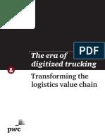 The Era of Digitized Trucking