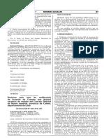 Declaran nulo acto de notificación de Acuerdo de Concejo que declaró vacancia de regidor del Concejo Distrital de Nuevo Imperial provincia de Cañete departamento de Lima
