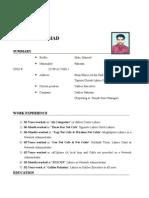 Maqbool CV