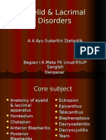Eyelid & Lacrimal Disorders.ppt