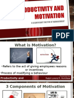 Theories and Techniques of Motivation