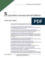 01-05 Typical BSS Conversion Tasks (BTS3606AE)