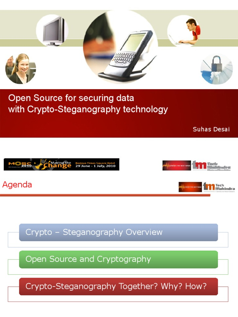 Tech Mahindra - Suhas Desai -Open Source _Cry-Steganography