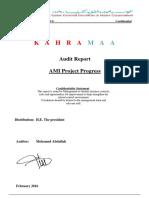Audit Report AMI Project