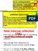 Lesson15a Total Internal Reflection