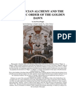 Rosicrucian Alchemy and the Golden Dawn