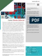 Curso de Diseño Editorial
