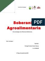 Contexto Socio Histórico de Lo Agroalimentario.