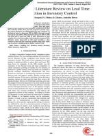 Optimization Literature