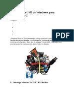 Crea Un LiveUSB de Windows Para Reparar Tu PC