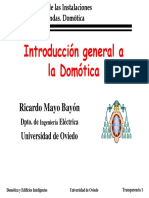 Introduccion a La Domotica