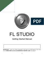 FLStudio12 GettingStartedManual Rev04 En