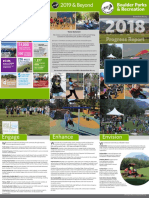 Progress Report 2017 - Boulder Parks and Recreation