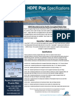 Corrugated Single Wall PCPP Brochure