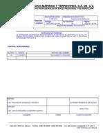 Smt-pro-op-001-Pro Para La Certificacion de Prueba de Carga a Un Equipo de Izaje