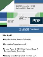 OWASP Joomla! Vulnerability Scanner - OWASP-MY