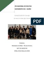 Relatório Coastwatch 2009-2010- CNE- Olhão