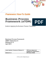 GB921G Guide to Applying Business Process Framework R8.1.0