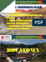 SESION 5 - BOCATOMA