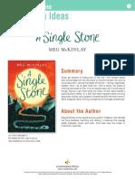 A Single Stone Teachers' Guide