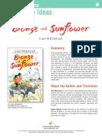 Bronze & Sunflower Teachers' Guide