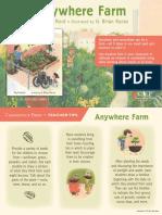 Anywhere Farm Teacher Tip Card