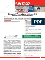 Ft Repemax Proyectable Polimero 210 0