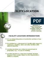 20003116 Facility Location