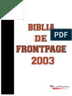 Blia de FrontPage 2003