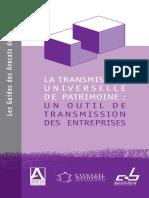 Transmission Universelle de Patrimoine