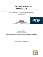 1. Polyethylene- Aluminium Roof (Tetra Pak)