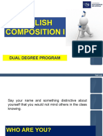Ppt-English Composition i - Week 1