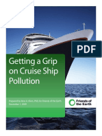 Getting a Grip on Cruise Ship Pollution