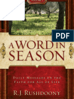 Word in Season Vol 1, A