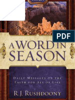 Word in Season Vol 3, A