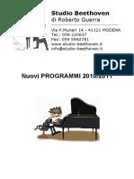 Studio Beethoven Programma