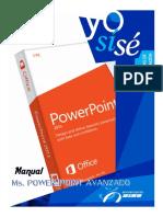 Manual MS Power Point 2013 Avanzado