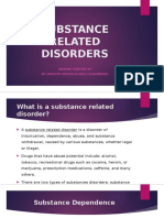 substance related disorders - updated