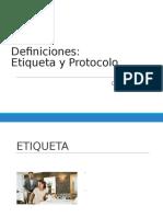 1.1 Definiciones Etiqueta y Protocolo