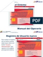 Manual de Operario