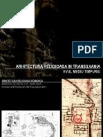 03. Transilvania - Schimburi de Influente in Arh. Religioasa