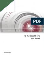 User Manual of HD-TVI Speed Dome.pdf