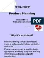 DECA Product Planning Powerpoint