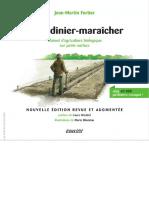 Le Jardinier-maraîcher - 2ème Édition Manuel d'Agriculture Biologique Sur Petite Surface